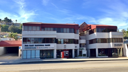 Picture of subject property office building in Monterey Park